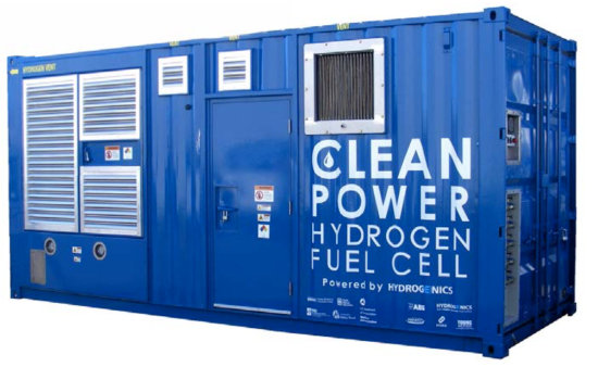 Project shows maritime fuel cell generator can increase energy efficiency by up to 30% at part load; reliability and cost issues