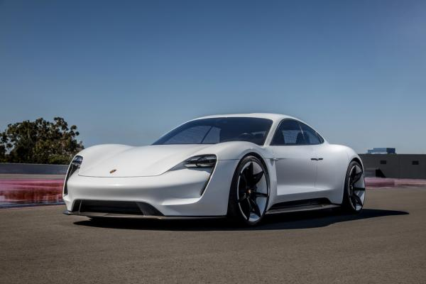 photo image Porsche names Mission E the Porsche Taycan; doubling investment in electromobility by 2022 to €6B; €500M for Taycan…