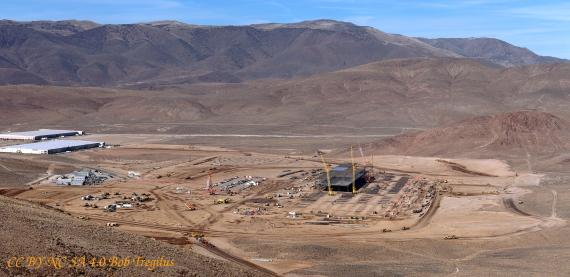 Tesla Gigafactory Construction — Picture of Progress