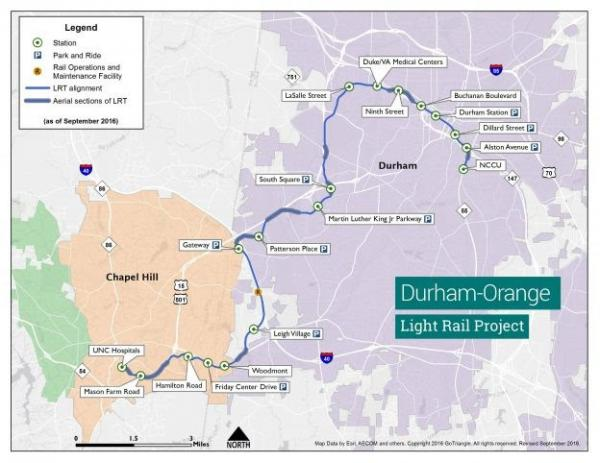 photo image North Carolina Republicans Launch 11th Hour Attack on Durham-Chapel Hill Light Rail
