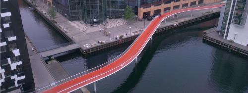 Copenhagen's newest bike lane totally…