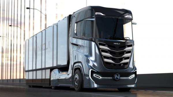 photo of Nikola will unveil electric versions of two semi trucks in April image