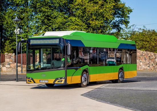 photo image MPK Poznań orders 21 Solaris electric buses; ~$18.5M