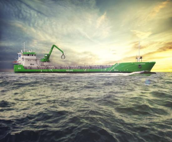 photo image Wärtsilä to deliver world's first hybrid retrofit for short-sea shipping vessel