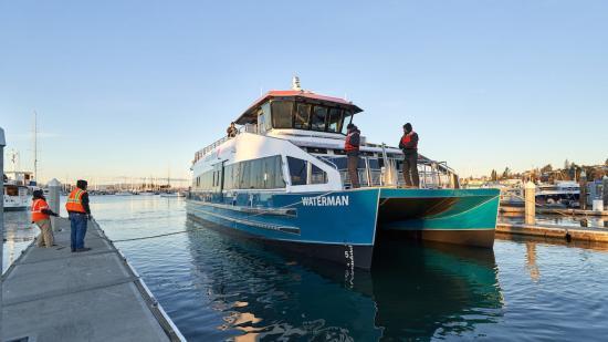 photo of All American Marine launches new hybrid catamaran image
