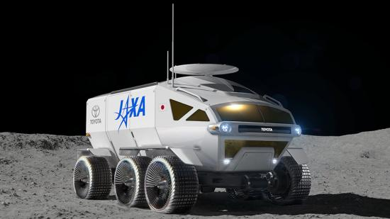 photo image JAXA and Toyota may partner further on space exploration; making future lunar mobility a reality; fuel cell vehicles