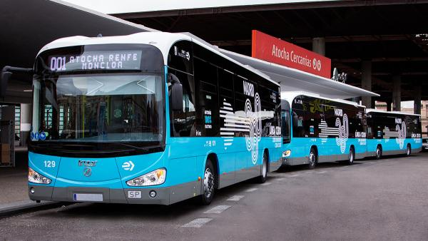 EMT Madrid places a third order with Irizar e-mobility making a total of 55 Irizar electric buses in fleet