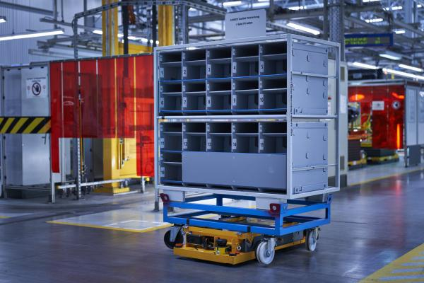 photo of BMW Group founds company to develop and distribute innovative robots and management software for logistics solutions image