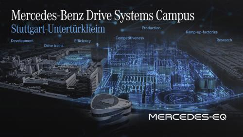 "photo of Mercedes-Benz transforming Stuttgart-Untertürkheim for ""Electric First"" future Drive Systems Campus image"
