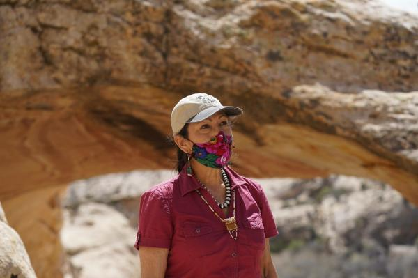 photo of The First Native American Cabinet Secretary Visits the Land of Her Ancestors and Sees Firsthand the Obstacles to… image