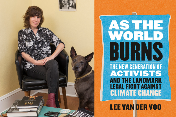 photo of 'As the World Burns': Q&A With Author Lee van der Voo on Her New Book About a Landmark Youth Climate Lawsuit image