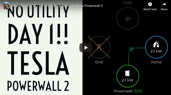 Off Grid: SunPower Solar Panels + Tesla…