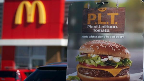 McDonald's Quietly Ended Its Meatless…