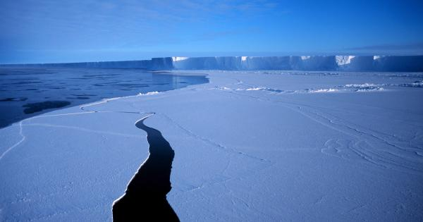 photo image Scientists Study Ice Shelf by Listening to Its Changing Sounds
