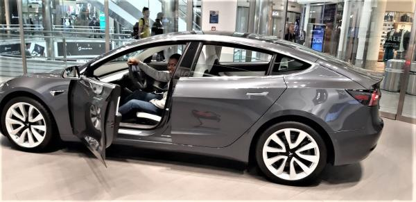 Study: Driving Tesla Model 3 Is Whole…